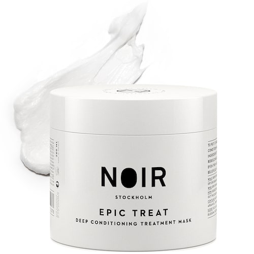 Återfuktande hårinpackning, Epic treat deep conditioning treatment mask, från Noir Stockholm.