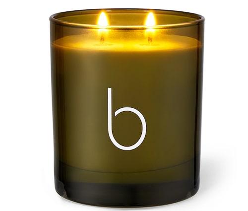 Ekologiskt doftljus, English garden-ljus i Lavender från Bamford.