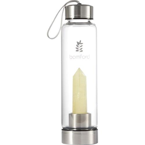 Vattenflaska med kristall från Bamford.