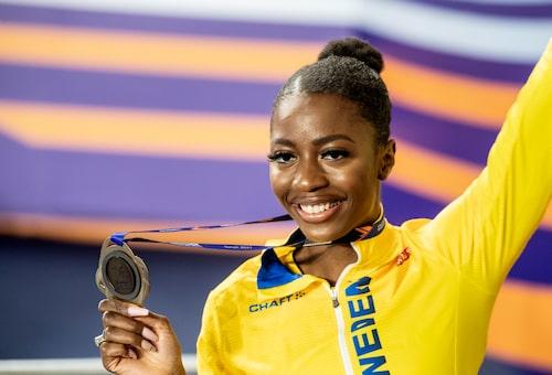 Den 23 juli inleds OS i Tokyo och då är svenska längdhoppshoppet Khaddi Sagnia på plats!