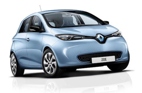 Många tror att Renault Zoe bara finns i vitt...