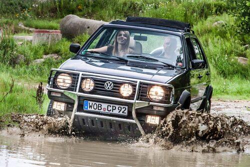 Här en Volkswagen Golf Country från 1991, sista produktionsåret.