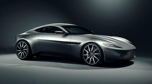 Tydligen kommer nya Vantage att bära en del drag från James Bond-unika DB10.