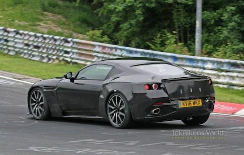 Nya vantage blir alternativet för den Aston Martin-kund som prioriterar hård körning före komfort.