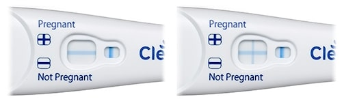 Positivt eller negativt graviditetstest?