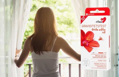 RFSU erbjuder flerpack med graviditetstester.