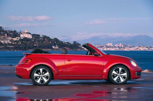 Produktionen av Beetle cabriolet sker i Mexiko.