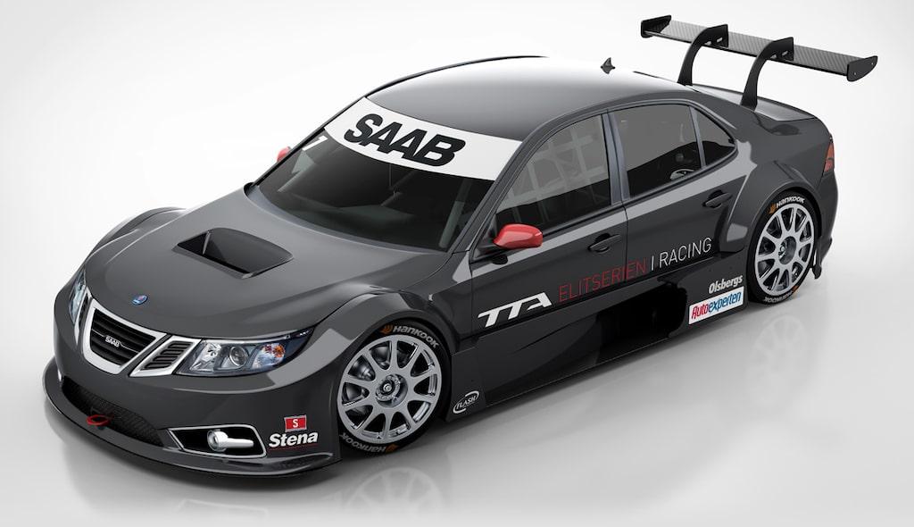 Saab 9-3 TTA Elitserien i Racing