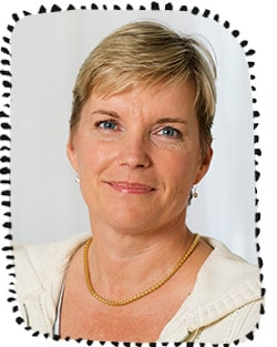 Mia Brytting, mikrobiolog och enhetschef på Folkhälsomyndigheten