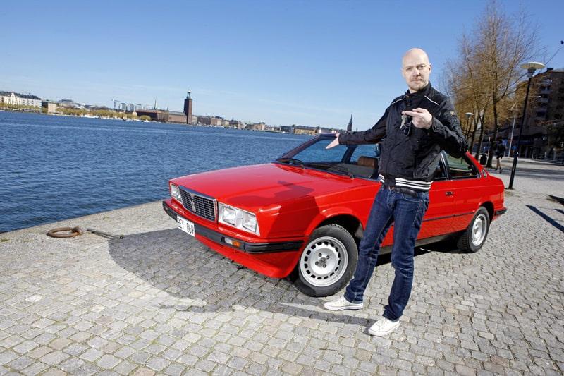 Byt din bil mot Scarface – en Maserati Biturbo från 1985