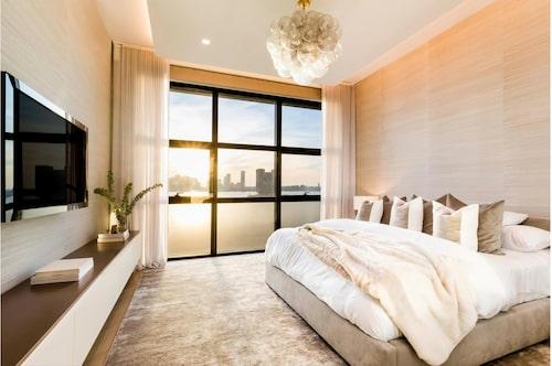 Här somnar du till solnedgången över floden. Foto: Douglas Elliman Real Estate