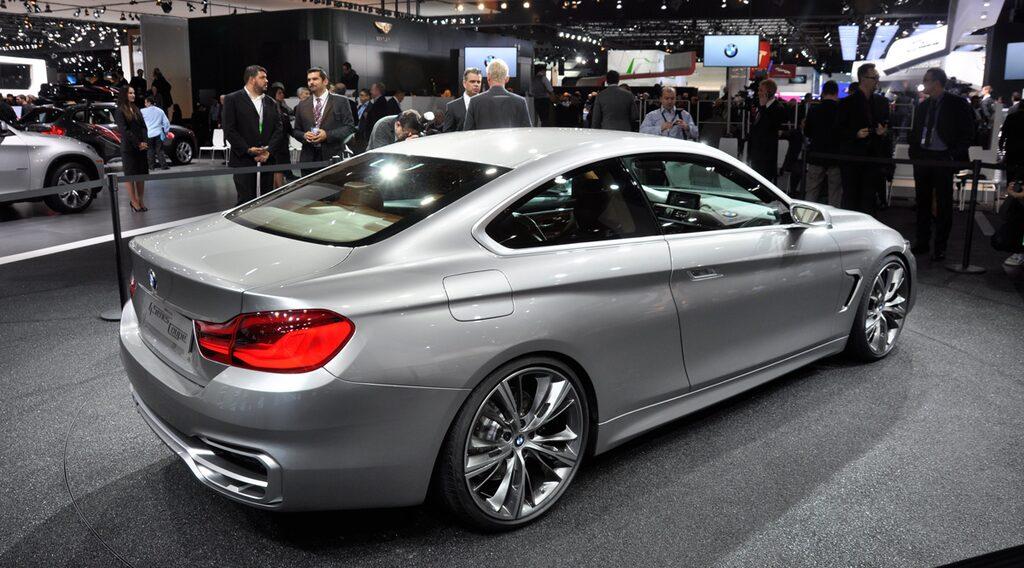 BMW 4-serie Coupé Concept på bilsalongen i Detroit