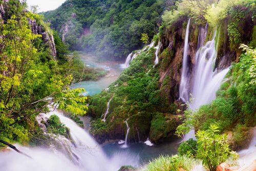 Plitvice – en sagolikt vacker nationalpark.