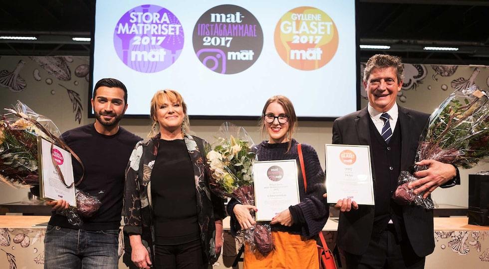 Förra årets vinnare! Precis som förra året kommer priset delades ut i Allt om Mat:s monter på mässan Sthlm Food & Wine 9-11 november. Då presenteras också vinnaren av Allt om Mat:s stora pris och vinpriset Gyllene Glaset.
