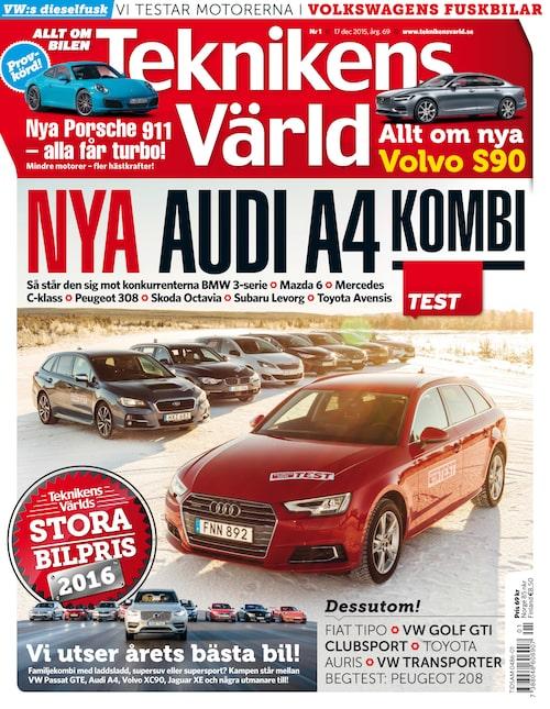 I morgon kan du i denna tidning läsa om vilken bil som är årets vinnare.
