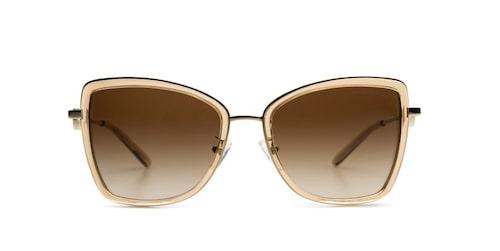 Butterfly, eller fjärilsformade solglasögon är extra smickrande för en oval ansiktsform.