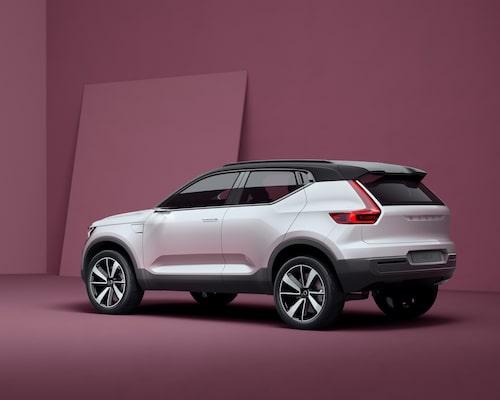 Det var i maj i fjol som Volvo visade upp Concept 40.1, en förstudie i hur XC40 kommer att te sig utseendemässigt.