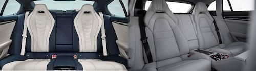 BMW 8-serie Gran Coupé eller Porsche Panamera, valet är ditt.