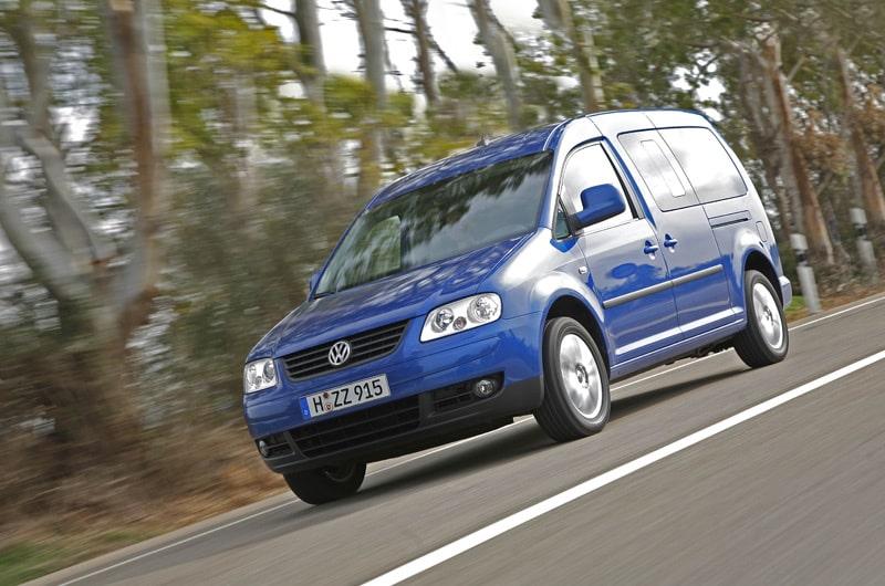 Provkörning av Volkswagen Caddy Maxi Life 1,9 TDI 105