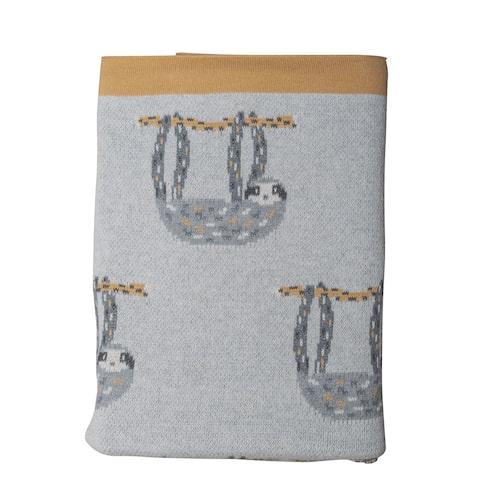 Mjuk filt med sengångare från By On.