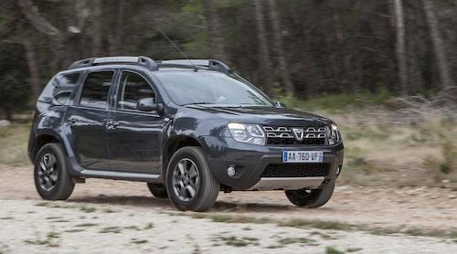 Dacia Duster så som den ser ut i dag.
