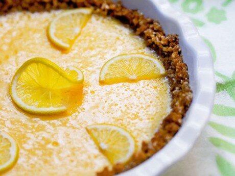 Key Lime Pie med knäckeskal