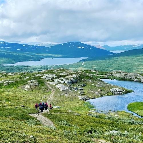 Att vandra i Tärnaby är att njuta av de svenska fjällen på riktigt! Här finns en fantastisk natur, och underbara naturupplevelser.