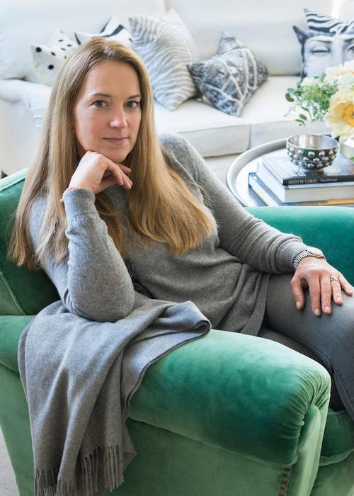 Susanne Nylén är en kreativ själ som aldrig får nog av att göra om hemma – så ofta att maken Fredrik blir aningen matt.