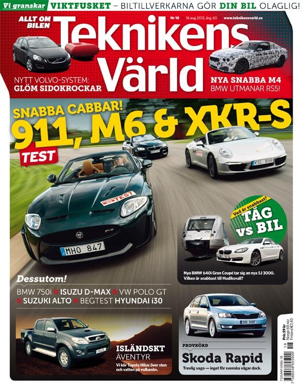 Teknikens Värld nummer 18 / 2012