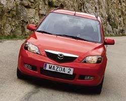 Provkörning av Mazda 2