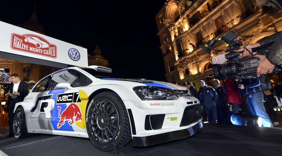 Volkswagen Polo R WRC i Monte Carlo