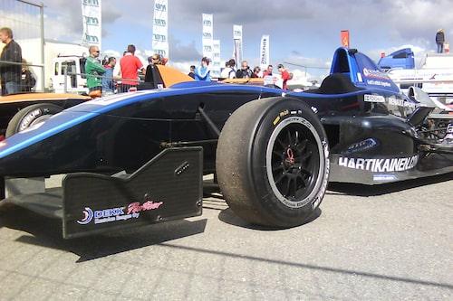 Philip Forsmans bil för helgen.
