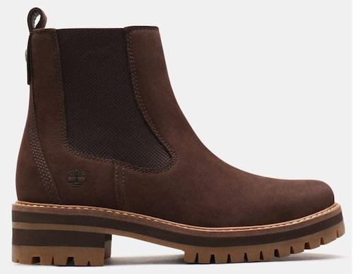 Mörkbruna chelseaboots från Timberland i klassiskt utförande. Klicka på bilden och kom direkt till skorna.
