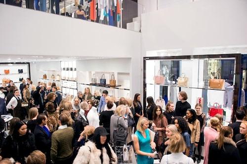 Drygt 200 gäster var på plats för att inviga Michael Kors nya butik.