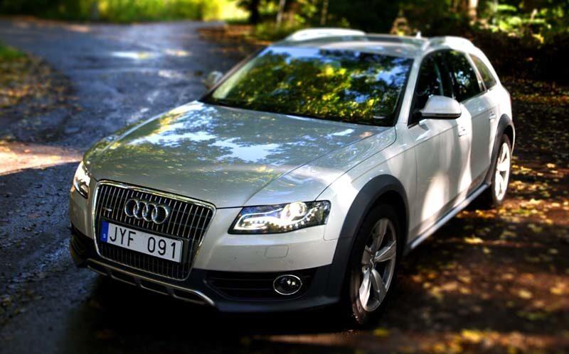 Provkörning av Audi A4 Allroad 3,0 TDI.