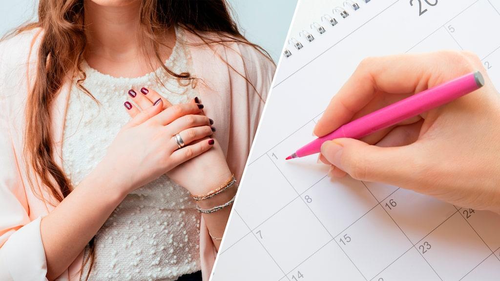 Många kvinnor får en högre kroppstemperatur under ägglossning. En skillnad på 0,5 till 1 grad är vanligt.