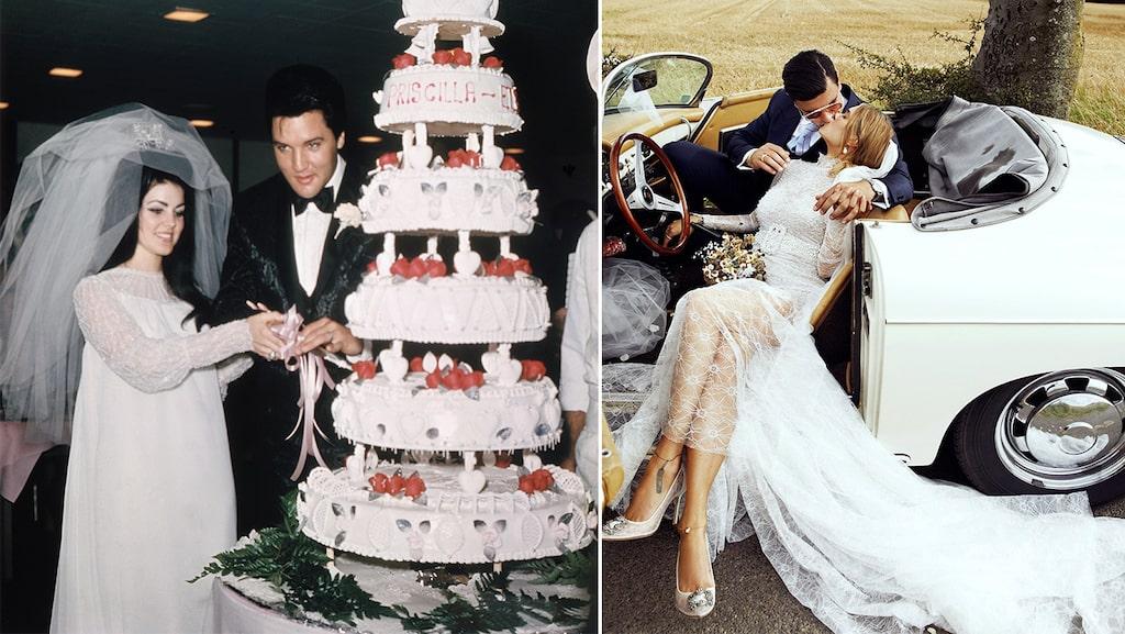 Kändisbröllop genom tiderna att inspireras av.