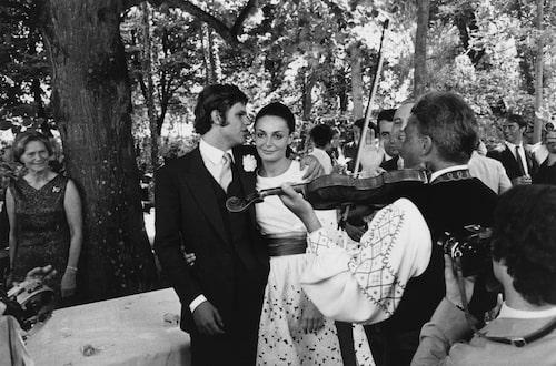 Diane von Furstenberg gifte sig med Prins Egon von Furstenberg 1963.