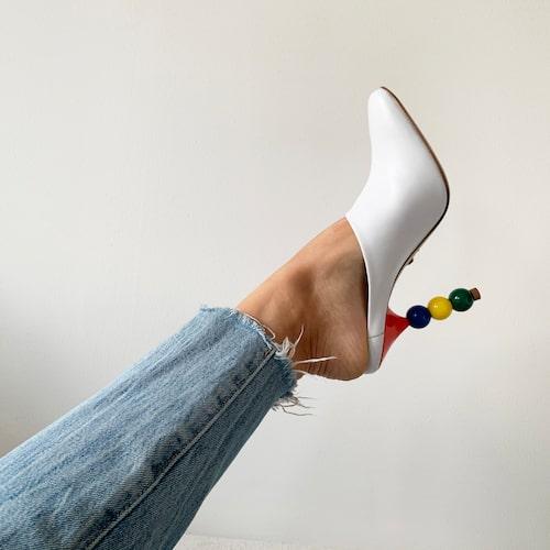 Sko från Sania d'mina och jeans från Levi's.