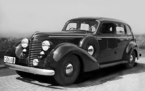1939 Skoda Superb 4000 Typ 919