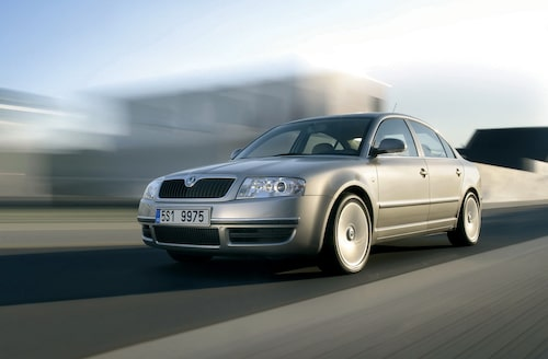 2006 Skoda Superb facelift