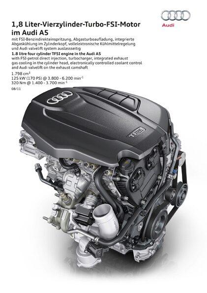 Audi 1,8 TFSI 2012