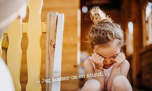 Kanske önskar ditt barn också att få vara ledsen en stund för sig själv på förskolan?