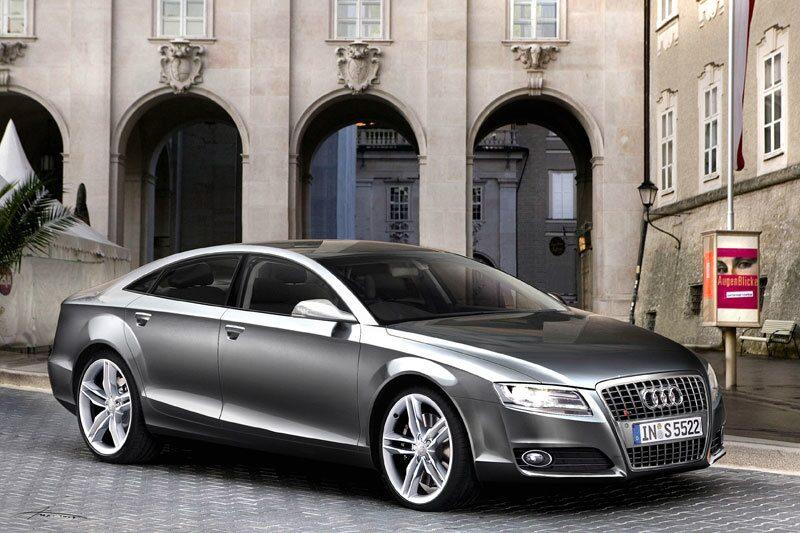 Illustration av hur Audi A7 kan komma att se ut.