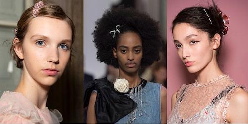 Även om du har kort hår kan du piffa frisyren med ett snyggt hårspänne. Ett stort hår som tar plats kan snabbt bli mer festfint med hjälp av en håraccessoar. Och självklart kan man använda sig av flera olika typer av hårspännen och hårklämmor för att skapa en annan look i håret.