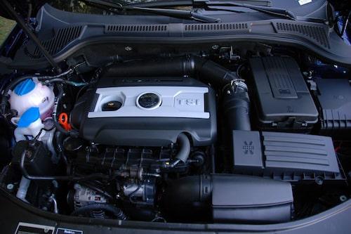 TSI 160 på 1,8 liter.
