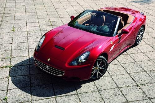 Ferrari California årsmodell 2013.