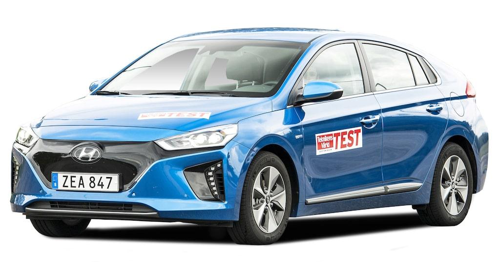 Hyundai Ioniq Electric räckvidd: NEDC 280 km, WLTP i.u. km.