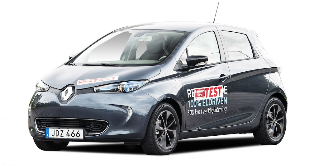 Renault Zoe räckvidd: NEDC i.u km, WLTP 311 km.