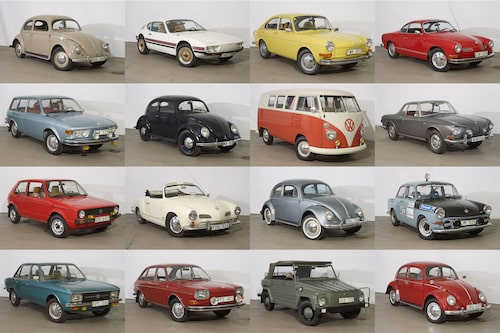 Ett litet axplock av alla bilar som såldes på den världsunika auktionen i Sverige i helgen.